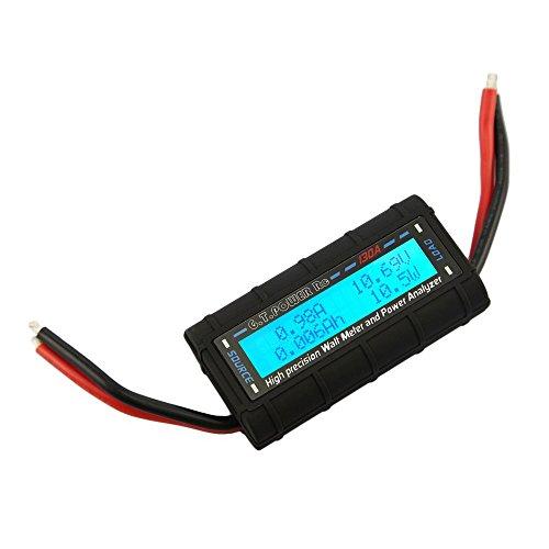 Vatimetro - G.T.Power Analizador de potencia RC Vatimetro para Voltaje (V), Corriente...