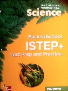 Science Back to School ISTEP+ INDIANA Grade 5