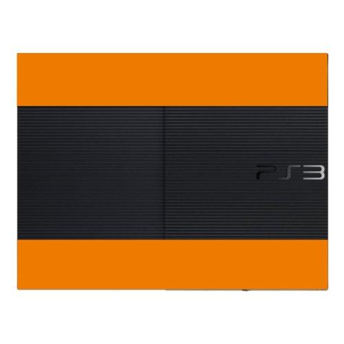 Disagu Design Skin für Sony PS3 Ultra Slim + Controller - Motiv Orange (Controller Ps3 Skins-orange)