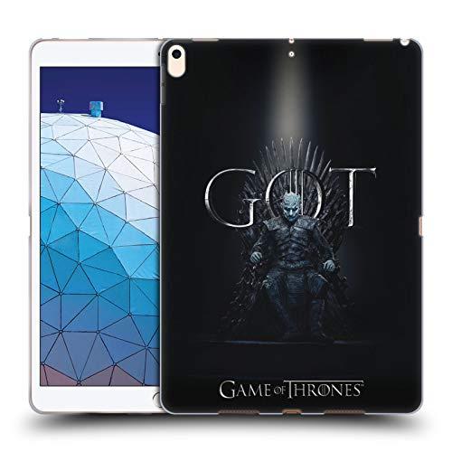 Head Case Designs Offizielle HBO Game of Thrones Night King Season 8 for The Throne 1 Soft Gel Huelle kompatibel mit iPad Air (2019) -