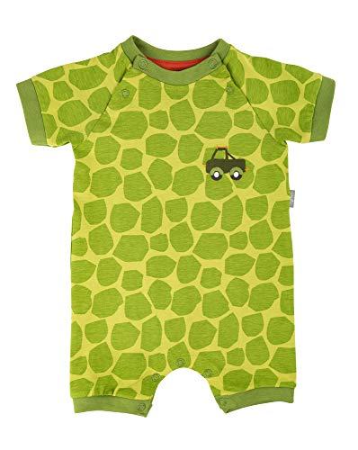 Sigikid Baby-Junge-Overall, kurz-Spieler-Schlafanzug Sommer Schlafstrampler Grün (Green Oasis 397), Herstellergröße: 56