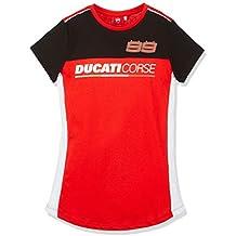 Ducati Corse - Camiseta de Jorge Lorenzo 99 para mujer Small