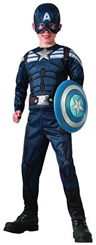 Rubie's Kostüm Captain America: Winter Soldier umkehrbar für ()