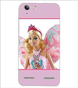 PrintDhaba Barbie Princess D-1131 Back Case Cover for LENOVO VIBE K5 PLUS (Multi-Coloured)