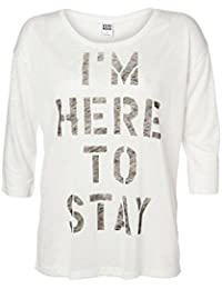 Vero Moda Tessa 3/4 Sleeve Top - Snow White