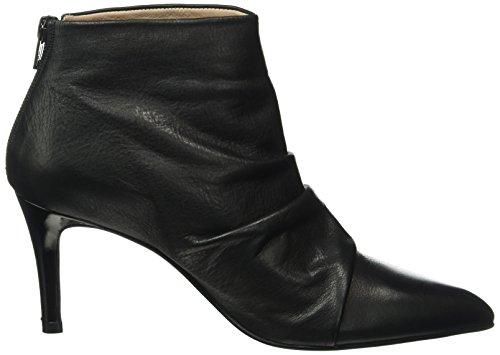 Paco Gil Damen P3129 Kurzschaft Stiefel Schwarz (Black)
