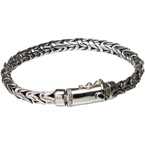 Bouddha to Light Handmade Argent Sterling Biker Bracelet Wire eie 275eur