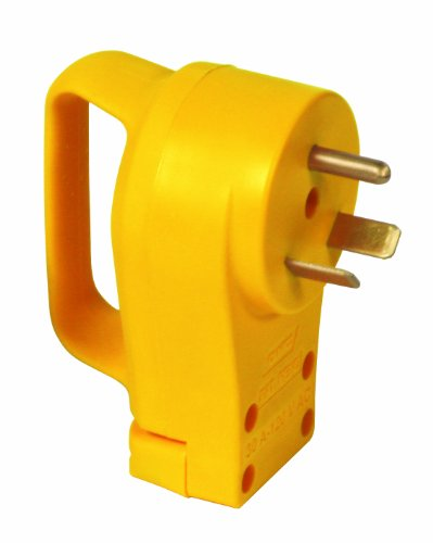 Camco Mfg 55242 30-amp Power Grip Plug (30 Power Plug Amp)