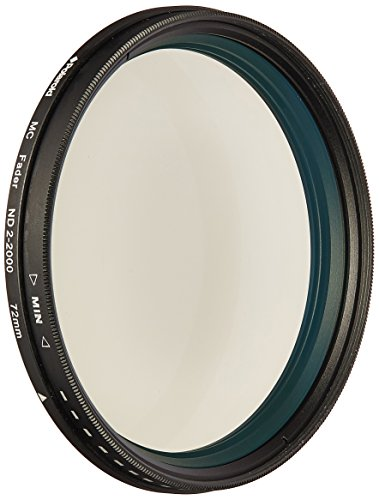 Polaroid Optics 72mm HD Multicoated Variable Reihe nd2-nd2000Graufilter (ND) Fader Filter