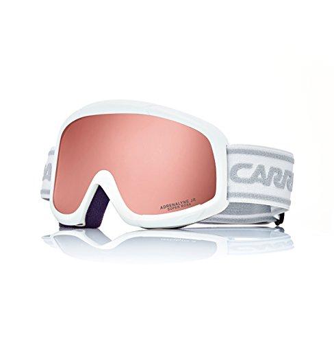 Carrera Masque de ski pour enfants adrenalyne Jr, White Matte 5096547f6eb2