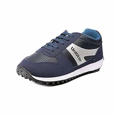 Unistar Jogging, Walking & Running (Narrow Toe) Shoes; 602-Blue