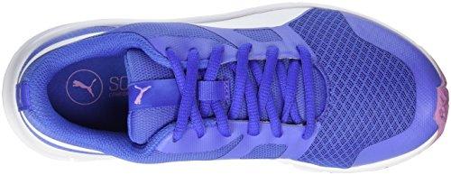 Sneakers Unisex Puma Flexracer Blu (baja Blu-bianco)