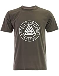 PALLAS Men's Valknut Symbols T Shirt
