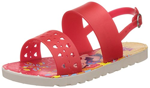 Disney Girl's Red Fashion Sandals - 13 kids UK/India (33 EU)  available at amazon for Rs.159