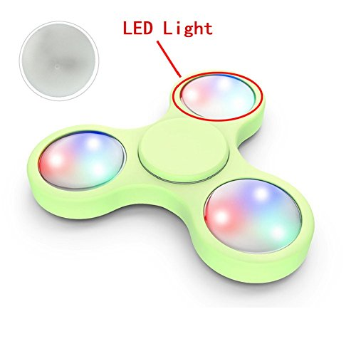 Preisvergleich Produktbild Gyro Spielzeug, ESAILQ 3PCS LED Licht für Fidget Hand Spinner Torqbar Finger Spielzeug EDC Focus Gyro