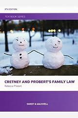 Cretney and Probert's Family Law Paperback