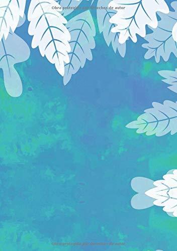 Libretas de Puntos: Cuadernos con Puntos, Cuaderno A5 Puntos, Cuaderno Dot, Cuaderno Dot Grid - Libreta Acuarela #50 - Tamaño: A5 (14.8 x 21 cm) - 110 ... ofertas hoy,libreta pequeña,libretas bonitas)
