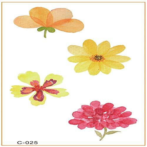 Clng-tool (Kleine frische Tätowierungsaufkleber imprägniern dauerhafte koreanische Harajuku Tätowierungsblumen-Karikaturstern-Tätowierungsaufkleber 3Pcs-25 10 * 5.7cm)