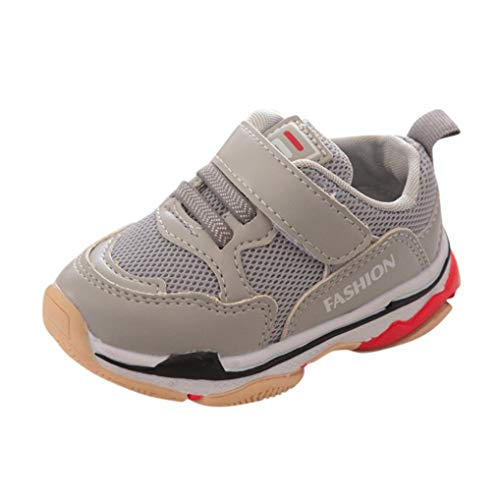Sneakers Enfant Baskets Chaussure, Xinantime Enfant en bas âge Enfants Bébé Chaussures De Course Sport Lettre Mesh Chaussures Sneakers