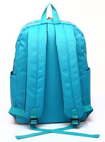 Longzibog Dual verstellbare Schultergurte und Hängeschlaufenband Mode Damen accessories hohe Qualität Einfache Tasche Schultertasche Freizeitrucksack Tasche Rucksäcke Lila