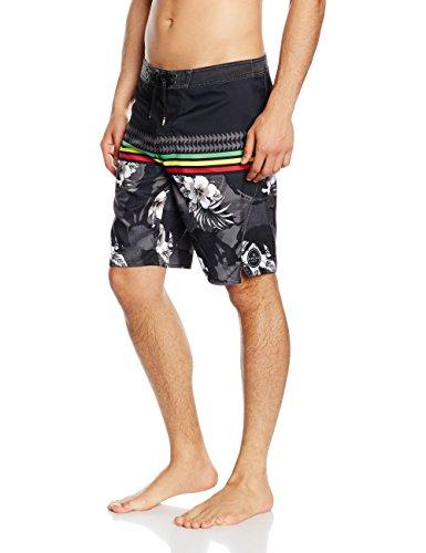 "Rip Curl Aggroworks Costume a pantaloncino da uomo, 50,8 cm, Uomo, AGGROWORKS HI BOARDSHORT 20"", nero, XXL"