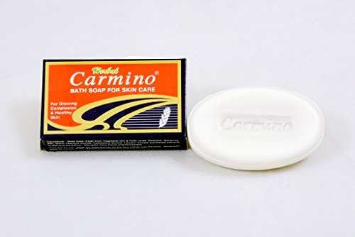 Carmino Skin Care Soap, 75G (Super Saver Pack of 12)