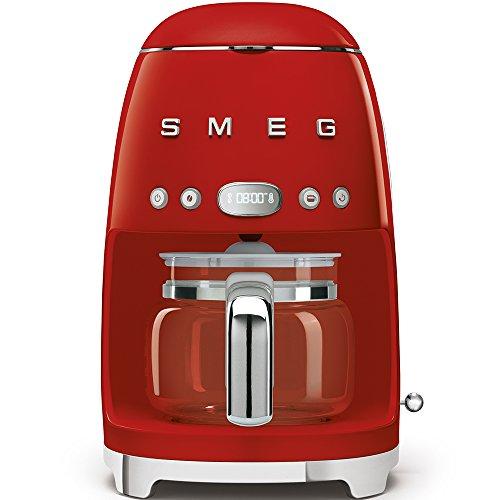Smeg DCF01RDEU macchina per caffè Libera installazione Macchina per espresso 1,4 L Semi-automatica