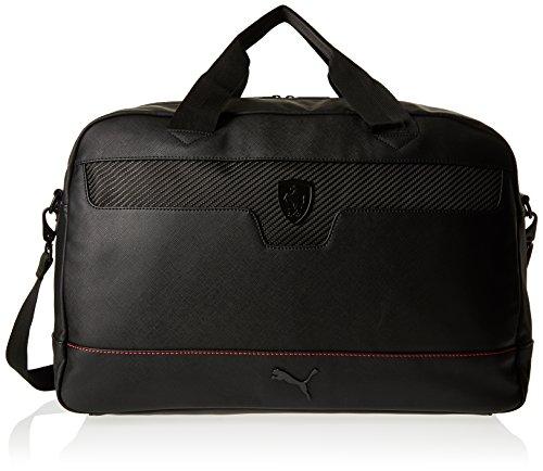 Puma  Ferrari Ls 074211, Herren Henkeltasche Schwarz Schwarz (Black) Taille Unique
