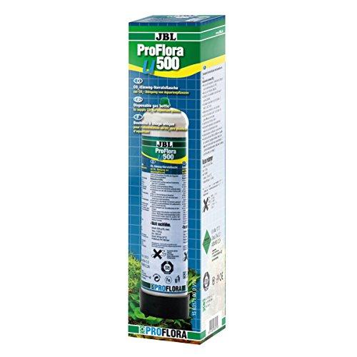 JBL Pro Flora u500 63174 CO2-Einweg-Vorratsflasche, mit 500 g, CO2 -