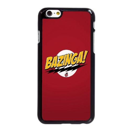 Le Big Bang Theory Bazinga FX45EH7 coque iPhone 6 6S 4,7 pouces cas de téléphone portable coque E7KU4L6HV, Coques iphone