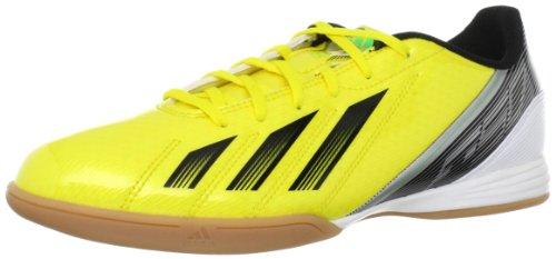adidas Performance F10 IN G65328, Herren Fußballschuhe, Gelb (VIVID YELLOW S13/BLACK 1/GREEN ZEST S13), EU 44  (UK 9,5)
