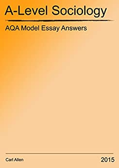 as level sociology essays How are a-level sociology essays marked | history sociology is a relatively new study among other social science disciplines including economics, political.