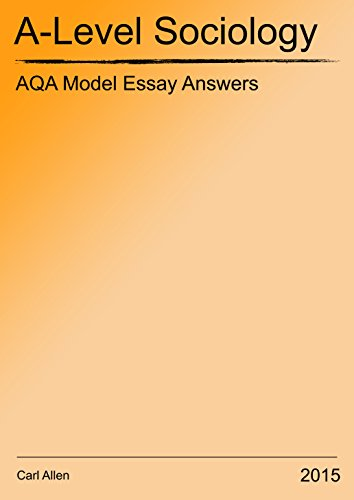 Essay On Gender Issues Aqa Alevel Sociology Model Essay Answers Ebook Carl Allen Amazoncouk  Kindle Store Essays On Juvenile Delinquency also Outline For Essay Writing Aqa Alevel Sociology Model Essay Answers Ebook Carl Allen Amazon  In Conclusion Essay