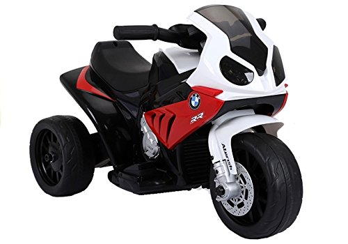 Moto Electrico para Niños Motocicleta Alimentado con Batería Vehículo Eléctrico - BMW S1000RR - Rojo