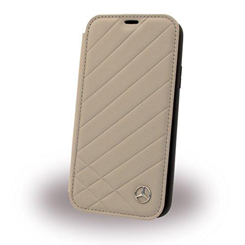 Image of Mercedes-Benz Mercedes MEFLBKPXCLIGR Benz CG Mobile Handytasche für Apple iPhone X grau