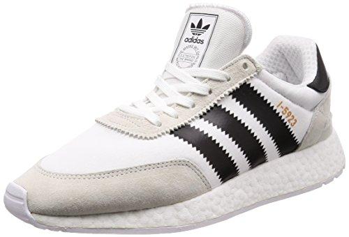 Adidas I-5923 Zapatillas de deporte Hombre, Blanco (Ftwbla/Negbás/Cobmet 000), 40 EU