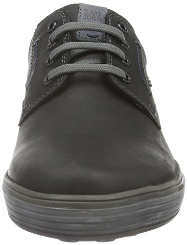 FRETZ men Herren Scorpion Low-Top Schwarz (51 Noir)