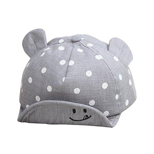 Baby Junge Mädchen Kinder Kleinkind Mütze Baseball Tupfen Cap Hut Sonnenschutz By Yalatan