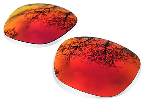 sunglasses restorer Ersatzgläser Kompatible für Oakley Holbrook, Ruby Red Polarized