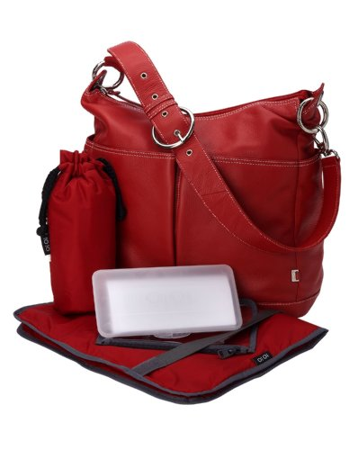 oioi-sac-a-langer-hobo-cuir-a-deux-poches-frontales-rouge