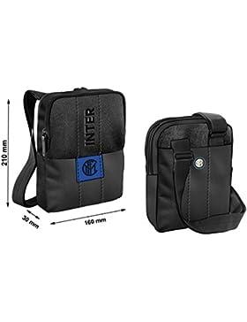 FC Inter Tasche 100% PL schwarz Offizielles Produkt