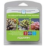 Aquafim M-03 Complete Sea Koral für Meerwasser Aquarien - Alle Nährstoffe. Ein Produkt. Aktive Zeit 2 Monate