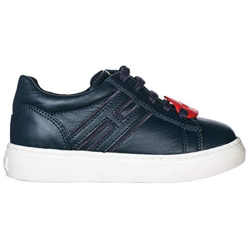490dd1fbfe890 Hogan Sneakers j340 Bambino Blu 26 EU usato Spedito ovunque in Italia