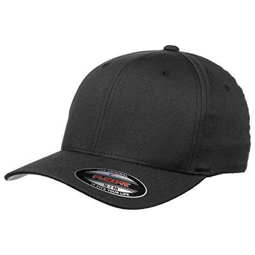 original-flexfit-cap-black-grosse-s-m-schirmunterseite-silbergrau