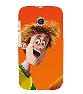 EPICCASE Hotel Transylvania 2 Mobile Back Case Cover For Moto E (Designer Case)