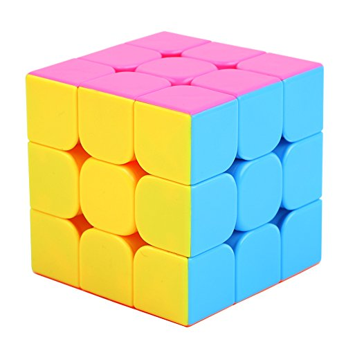 Speed Cube,UROPHYLLA Speed Magic Cube Stickerless