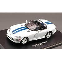Dodge Viper White/Blu 1:43 Model 2000