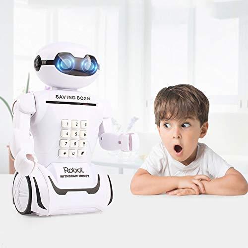 Floolter alcancía Inicio multifunción Robot Hucha