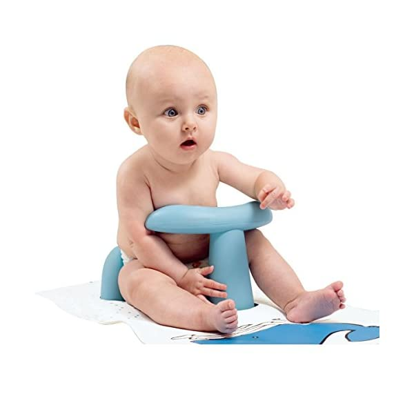 BBCare® Baby Non-Slip Safety Bath Seat & Extra Long Bath Mat with Hot Spot Color Change