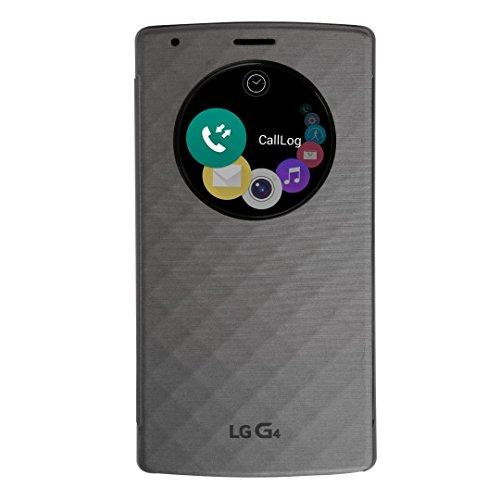 LG Quick Circle Ersatz Schutzhülle für G4 - Silber